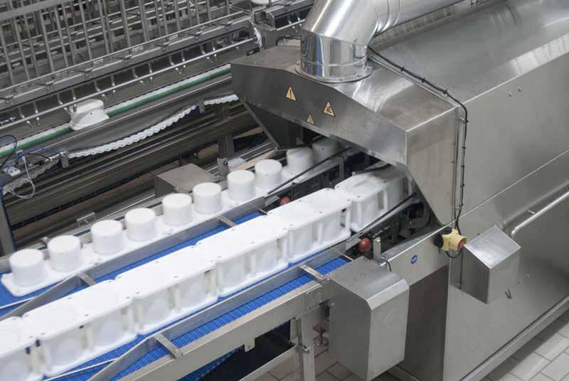 Masini de spalat matrite de branza